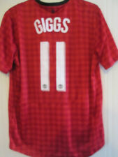 Manchester United Giggs 2012-2013 Home Football Shirt XL /35411