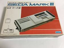 Sega Mark III video game console system boxed Japan Master System