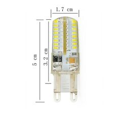 G9 6W Cool White AC 220-240V 3014 SMD Silicon LED Crystal Light Bulb Waterproof