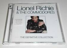 LIONEL RICHIE & THE COMMODORES - THE DEFINITIVE COLLECTION - 38 TRACK CD ALBUM