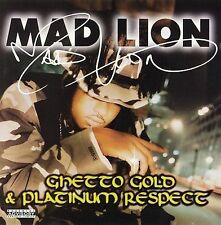 Ghetto Gold & Platinum Respect by Mad Lion (CD, Jun-1997, Nervous Records)