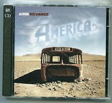 America Here & Now Album Advance Promo Music CD BurgundyRecords Sony NewSealed