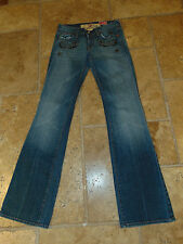 Orig $340.00 7 For All Mankind Stud/Crystal Great China Wall Jeans Size 26