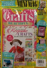 Crafts Beautiful UK Keepsakes Free Gift #275 Jan 2015 FREE PRIORITY SHIPPING