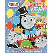 Thomas & Friends: Funny Faces Sticker Book, New,  Book