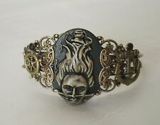 Siren Of The Sea Cuff Bracelet, fantasy victorian pirate steampunk gothic ocean