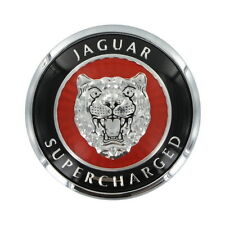 Jaguar Supercharged XKR Hood Bonnet Badge Emblem 99-02  HJB5900AA + JZW100016