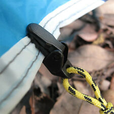 10 Pcs Tarp Clips Clamp Awning Set Car Boat Cover Tent Tie Down Emergency Snap