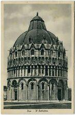 1949 Pisa - Vista del Battistero, Firenze dest. Fossano - FP B/N VG