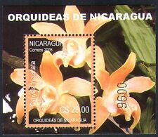 Nicaragua 2005 Orchids/Flowers/Plants/Nature/Orchid 1v m/s (n38714)