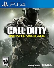 Call of Duty: Infinite Warfare PS4 SONY PLAYSTATION 4  NEW! USA RELEASE!