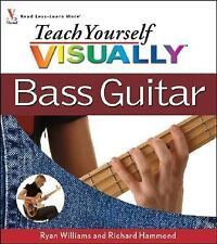 Teach Yourself VISUALLY Bass Guitar-ExLibrary
