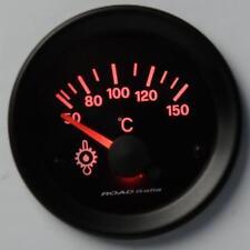 Manometro Strumento Road Retroilluminato Temperatura Olio °C c/SONDA Rosso