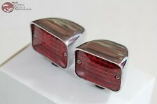 Custom Truck Hot Rat Street Rod Tail Lamp Auxillary Marker Clearance Lights Pair