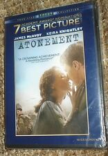 Atonement (DVD, 2008, Widescreen), NEW & SEALED, WIDESCREEN, REGION 1, REDGRAVE
