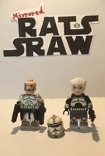 Lego Star Wars minifigure Trooper - Clone Custom Young & Old Wolffe SPECIAL