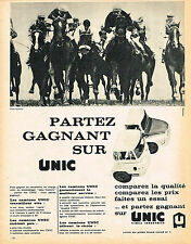 PUBLICITE ADVERTISING  1962   SIMCA UNIC    camions