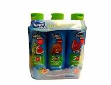 Suave Kids 2-In-1 Shampoo + Conditioner Smoothers 3 Pack 22.5 Oz