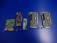 Lot of 5x Misc Cards Adaptec ASC-29160 SCSI Dell N4060 Sound Card Asus PCI-G31