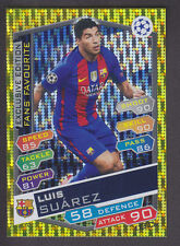 Match Attax Champions League 2016/17 - S10 Luis Suarez - Barcelona - Exclusive