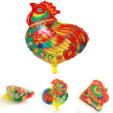 1 X Colorful Rooster Balloon Toys for Kids Birthday Party Decor Kids   VVV
