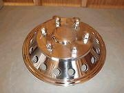 "SPRINTER 16"" FRONT WHEEL COVER WHEEL SIMULATOR HUB CAP STAINLESS STEEL LINER"