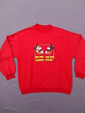 MICKEY MOUSE Sweat Sweatshirt Original Vintage 80s Copyright Disney Crew Neck