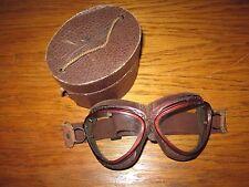 WW2 Imperial Japanese Navy Pilot Flight Goggles & ORIGINAL BOX - RARE!