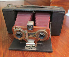 EASTMAN KODAK No 2 STEREO BROWNIE CAMERA MODEL A - NICE