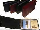 GLEN POSTCARD ALBUM & 30 SLEEVES IN RED, BLUE OR GREEN WITH OPTIONAL SLIPCASE