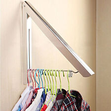 Triangle Foldable Bathroom Accessory Wall Mounted Clothes Holder Laundry Hanger