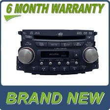 NEW 07 08 Acura TL Radio XM Satellite DVD Player 6 Disc CD Changer 1TB6 S-Type