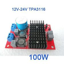 DC 12V-24V TPA3116 100W Mono Channel Digital Power Audio Amplifier Verstärker