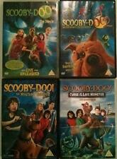 SCOOBY-DOO MOVIE QUADRILOGY Monsters Unleashed*Mystery Begins DVD *EXC*