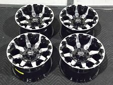 "12"" STI HD6 MACHINED & BLK ATV WHEELS COMPLETE SET 4  LIFETIME WARRANTY  IRS1CA"