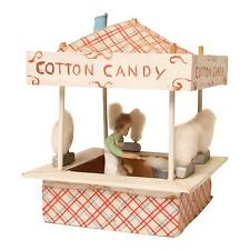 Vintage FOLK ART CARNIVAL STAND Cotton Candy fair model handmade early display