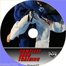 LEARN JUDO INSTRUCTION VIDEO DVD 4 HR INTENSIVE DEMONSTRATIONS THROWS CHOKES NEW
