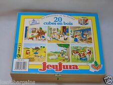 Jeujura French  20 blocks Infant picture Blocks pRe school  Nursery