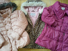 Nice AUTUMN WINTER GIRL 3x BUNDLE NEXT COAT JACKET 4/5 YRS 5/6 YRS 7 YRS (1.5)