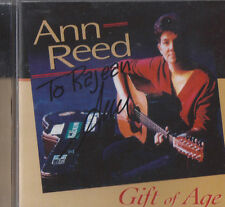 ANN REED Gift of Age CD OOP FEMME MN FOLK SIGNED AUTOGRAPHED!!