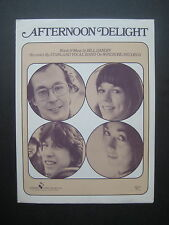 Afternoon Delight by Starland Vocal Band sheet music