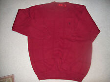 Izod Men's Knit Cotton Pullover Sweater - Size M