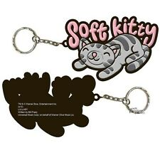 Big Bang Theory Soft Kitty Sheldon Cooper Licensed Key Chain Rubber Keychain
