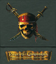Pirates Of The Caribbean: Soundtrack Treasures Collection 4 CD's + 1 DVD