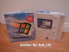 MICROSOFT WINDOWS 98 SECOND EDITION FULL OPERATING SYSTEM WIN 98 SE =SEALED BOX=
