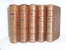 Le théatre de T Corneille chez Arkstée et Merkus 1754 5 vol 35 gravures  rare
