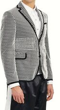 NEW RARE ITEM MONCLER GAMME BLEU by THOM BROWNE UNIQUE JACKET TAG SIZE 2, USA 36