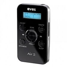 Aves Air 2 80211 Handheld Portable Pocket Personal DAB DAB+ Digital Radio & F...