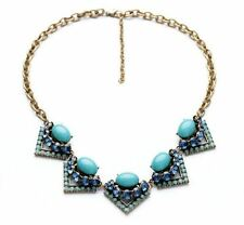 Stella Style Crystal Rory Statement Necklace Dot J Chain Crew Best Gift