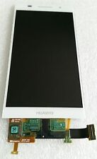 Original LCD Display Einheit Anzeige Touch Screen Glas Weiss Huawei Ascend P6